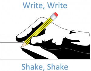 Write Write Shake Shake